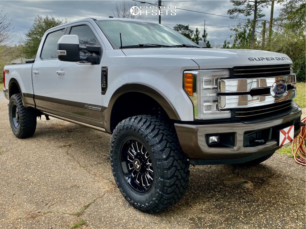 Lifted Ford F250