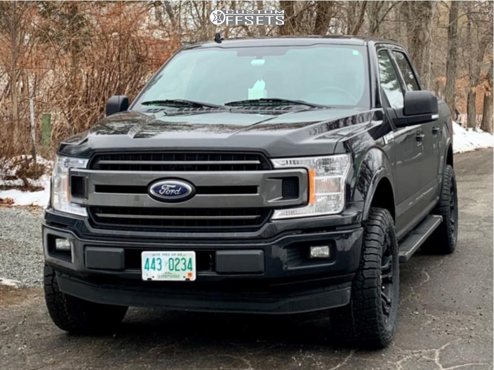 2 2018 F 150 Ford Bilstein Leveling Kit Fuel Vapor Matte Black