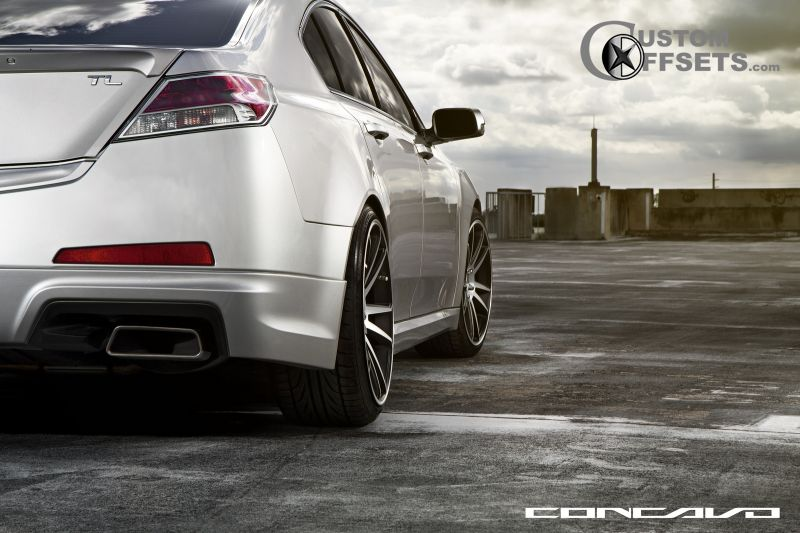 2010 Acura Tl Concavo Wheels Cw S5 Eibach Lowered On Springs