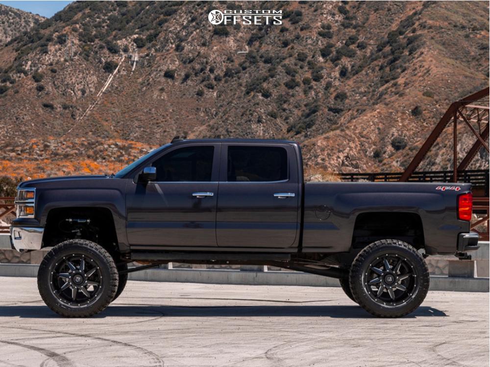 12 2016 Silverado 1500 Chevrolet Bulletproof Suspension Lift 12in Gear Off Road Wrath Machined Accents