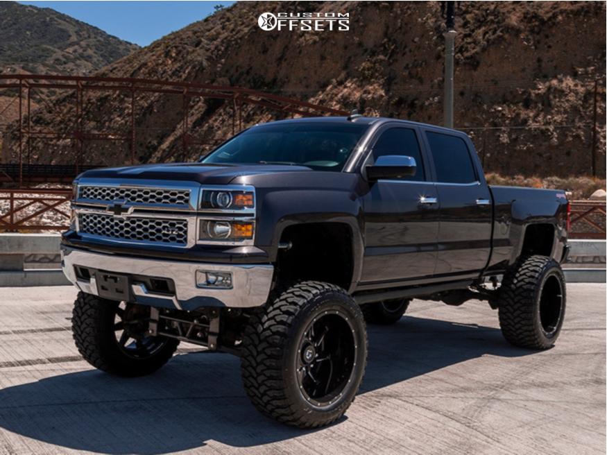 14 2016 Silverado 1500 Chevrolet Bulletproof Suspension Lift 12in Gear Off Road Wrath Machined Accents