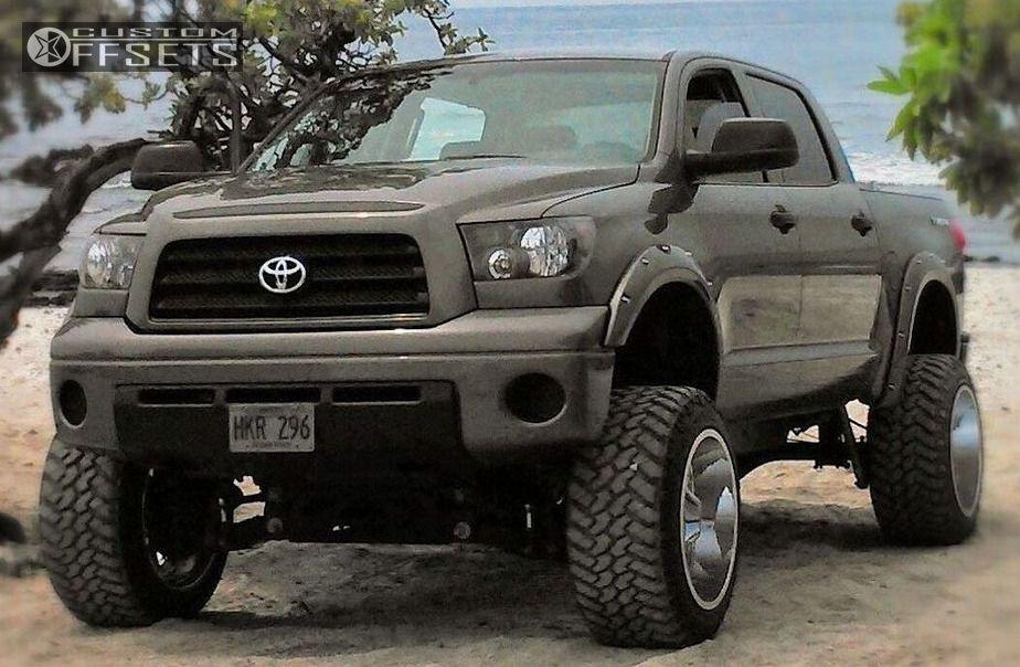 Tundra Toyota Suspension Lift Moto Metal Mo Chrome Hella Stance