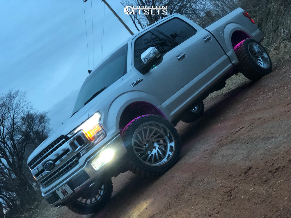 12 2019 F 150 Ford Motofab Suspension Lift 25in Arkon Off Road Caesar Chrome