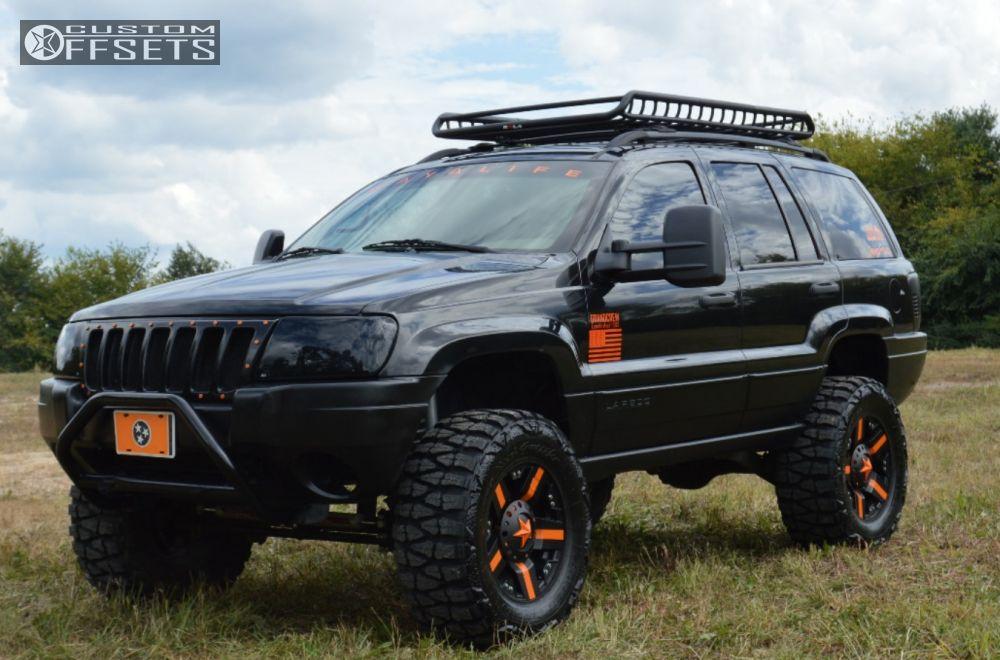 2004 Jeep Grand Cherokee Xd Rockstar Suspension Lift 6in Custom Offsets