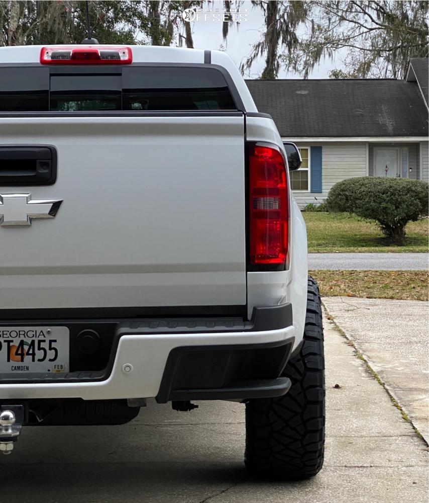 3 2019 Colorado Chevrolet Eibach Suspension Lift 3in Anthem Avenger Matte Black