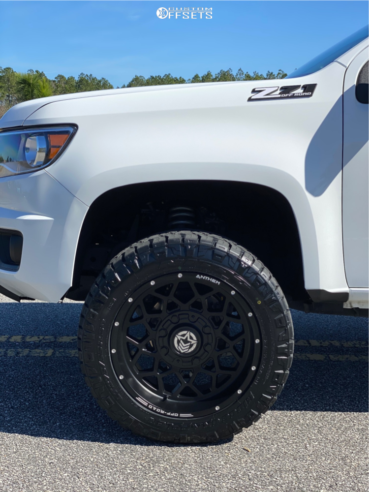 5 2019 Colorado Chevrolet Eibach Suspension Lift 3in Anthem Avenger Matte Black