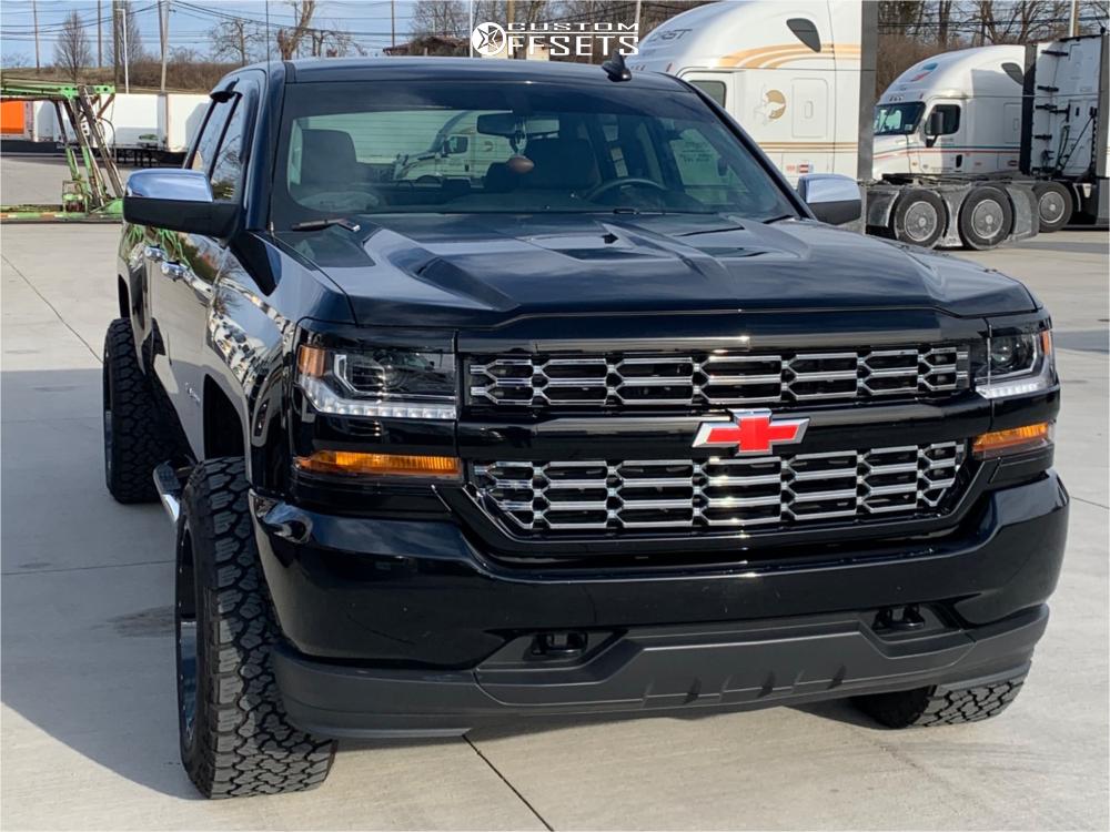 2 2019 Silverado 1500 Ld Chevrolet 2 Inch Level Leveling Kit Fuel Cleaver Black