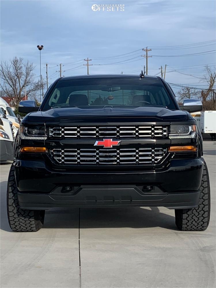 3 2019 Silverado 1500 Ld Chevrolet 2 Inch Level Leveling Kit Fuel Cleaver Black
