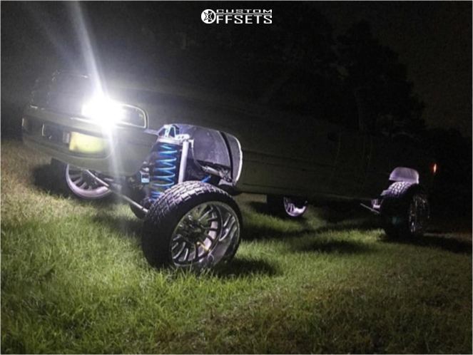 12 2001 Ram 2500 Dodge Zone Suspension Lift 5in American Force Octane Ss Polished