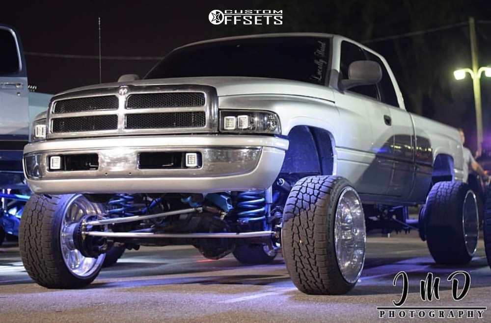 15 2001 Ram 2500 Dodge Zone Suspension Lift 5in American Force Octane Ss Polished
