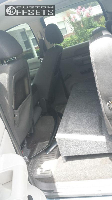 15 2007 Sierra 1500 Gmc Suspension Lift 6 Xd Misfit Black Aggressive 1 Outside Fender