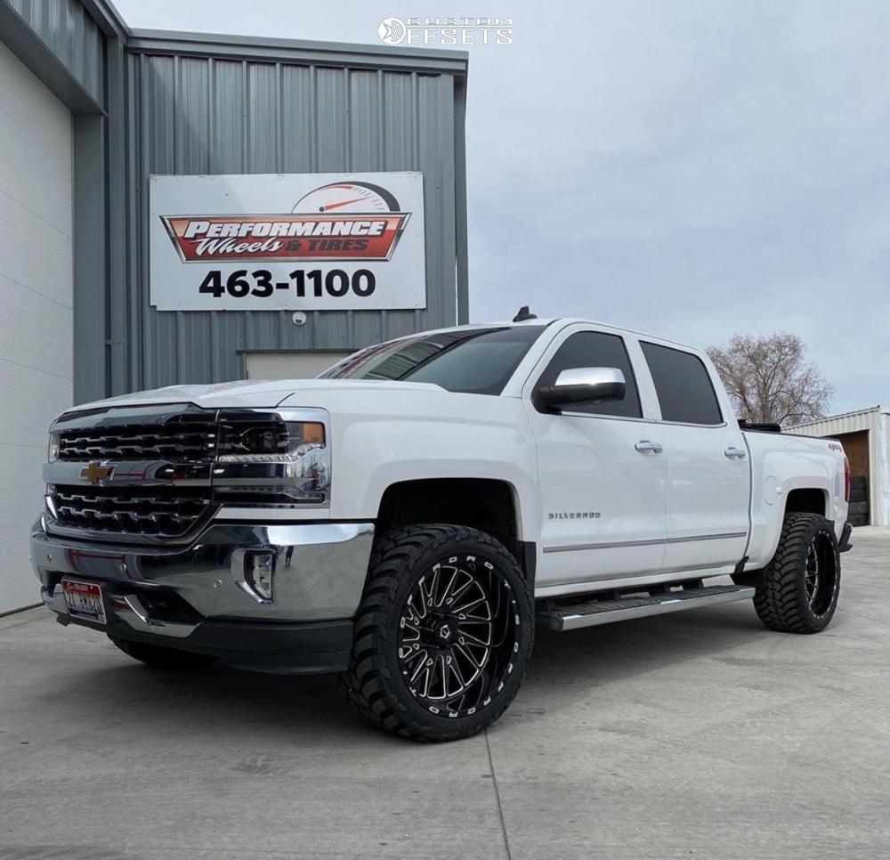 1 2017 Silverado 1500 Chevrolet Leveling Kit Leveling Kit Tis 547bm Black