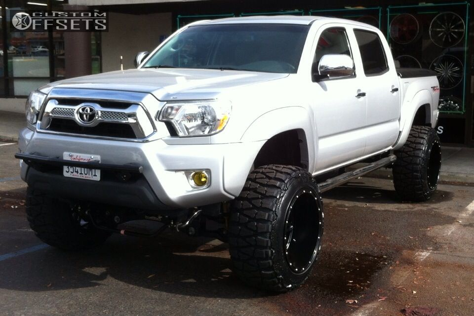 1 2013 Tacoma Toyota Suspension Lift 6 Fuel Hostage Blacka Stance 5