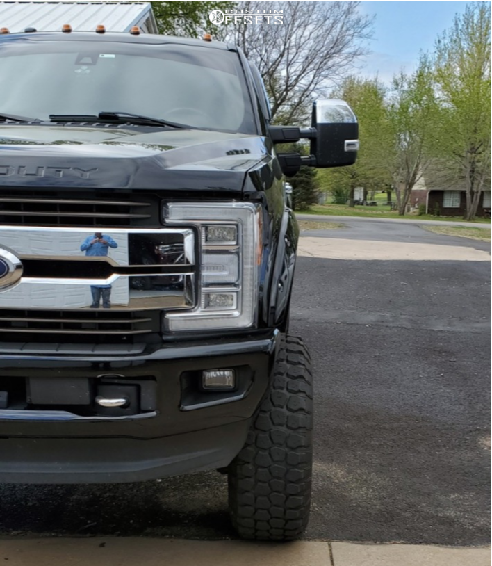 """2017 Ford F-250 Super Duty Super Aggressive 3""""-5"""" on 20x12 -51 offset ARKON OFF-ROAD Caesar and 37""""x12.5"""" Ironman All Country Mt on Suspension Lift 6"""" - Custom Offsets Gallery"""