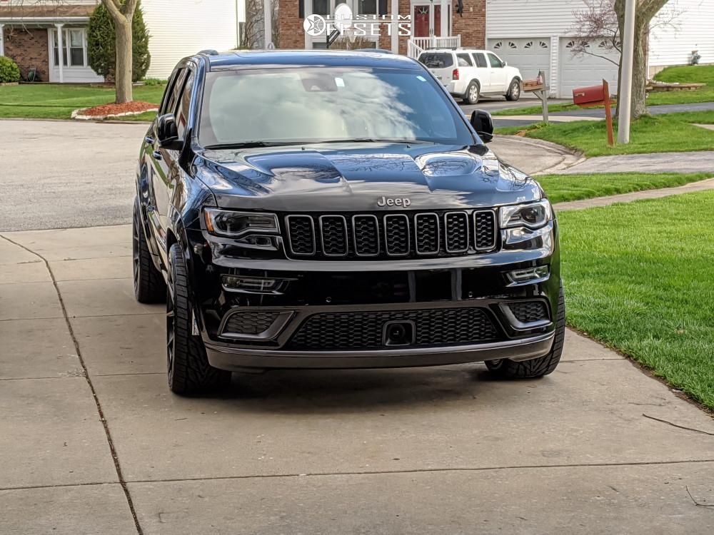 2 2019 Grand Cherokee Jeep High Altitude Stock Verde Axis Black