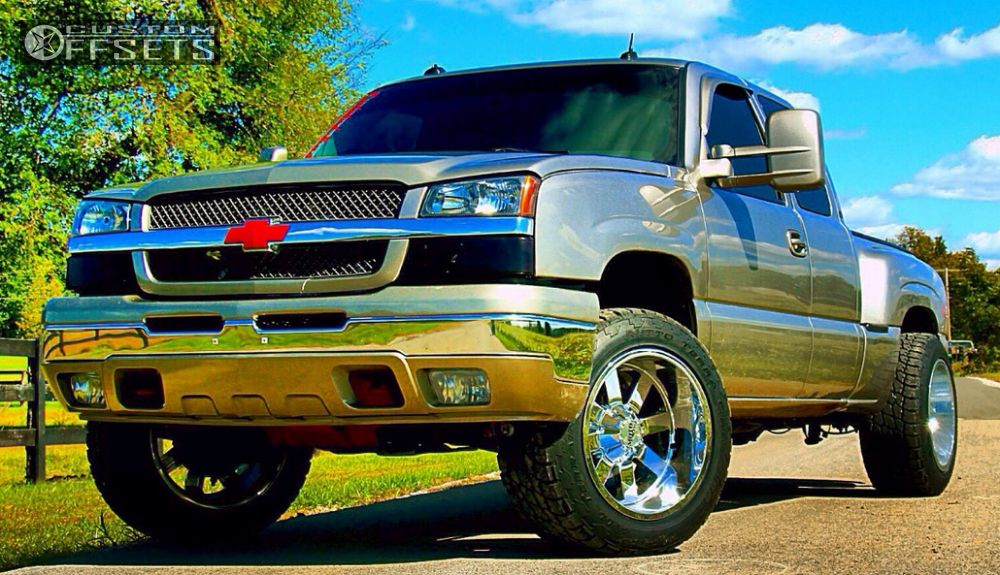 1 2003 Silverado 1500 Chevrolet Leveling Kit Moto Metal Mo962 Chrome Super Aggressive 3 5