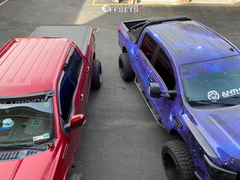 12 2015 F 150 Ford Readylift Suspension Lift 7in Anthem Equalizer Matte Black