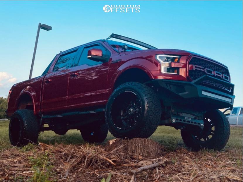 16 2015 F 150 Ford Readylift Suspension Lift 7in Anthem Off Road Equalizer Matte Black