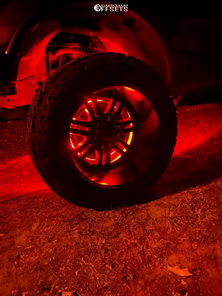 9 2015 F 150 Ford Readylift Suspension Lift 7in Anthem Off Road Equalizer Matte Black
