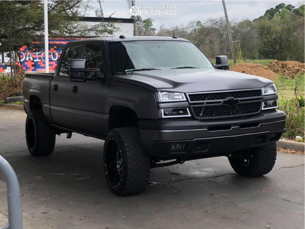 Lifted Cateye Silverado