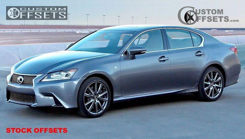 2013 Lexus Gs350 Stock Stock Oem Stock Custom Offsets