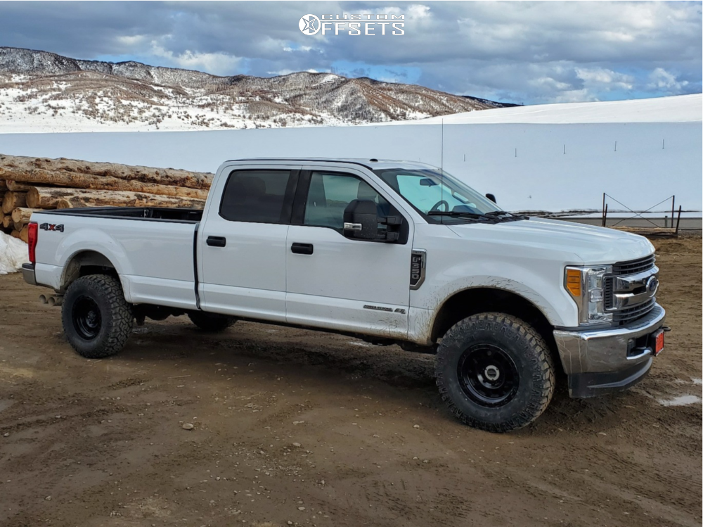1 2019 F 350 Super Duty Ford Stock Air Suspension Xd Xd132 Black
