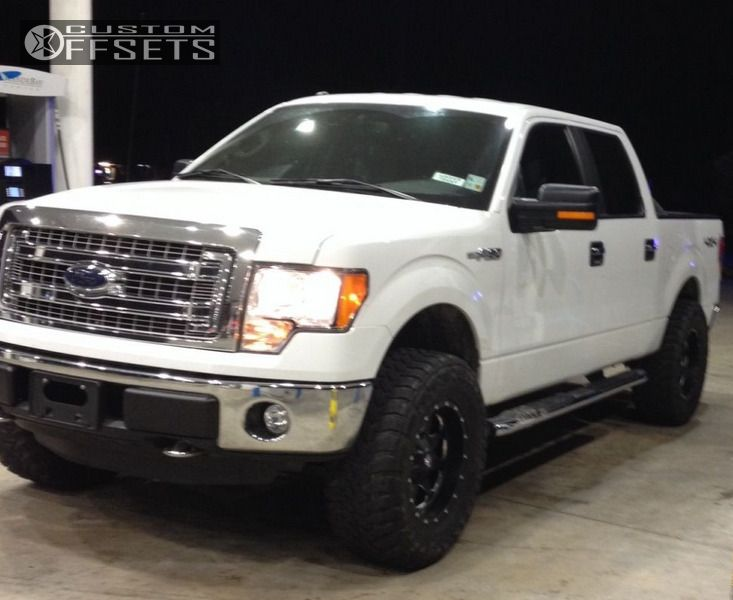 2014 Ford F 150 Fuel Boost Rough Country Leveling Kit