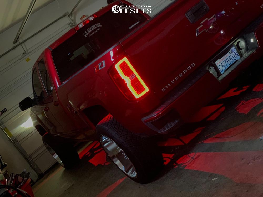 4 2018 Silverado 1500 Chevrolet Proryde Leveling Kit Vision Spyder Chrome