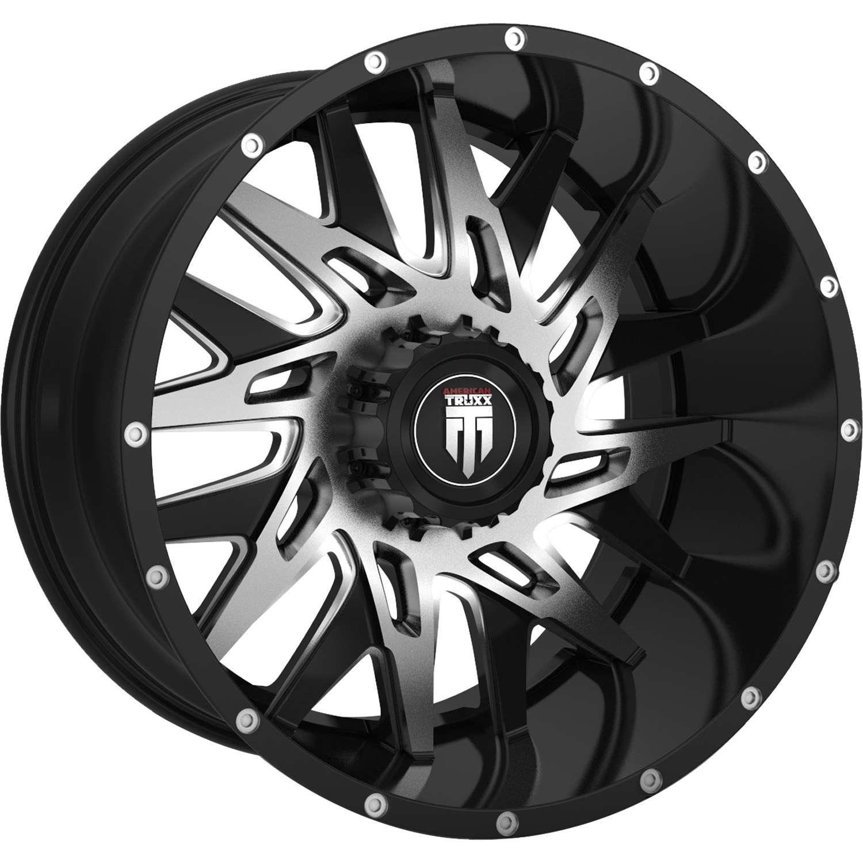 environ 4.44 cm Tru-Build Wheels RGH844 disque avant roue-Noir 26 x 1.75 in