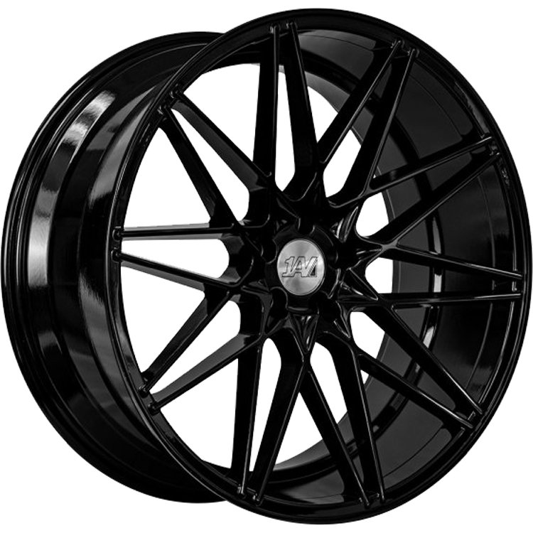 1AV ZX4 Gloss Black20x9 +40mm