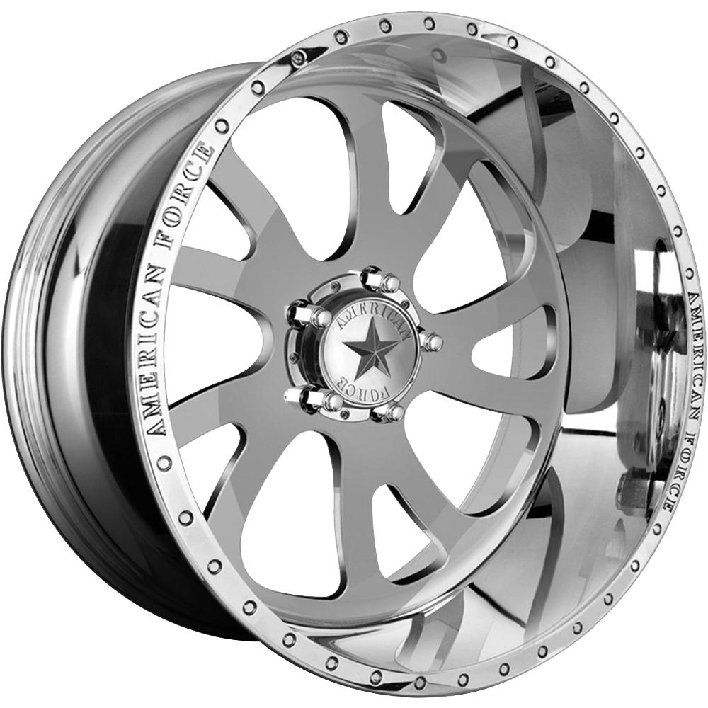 American Force Octane Ss 22x12 40 Custom Wheels