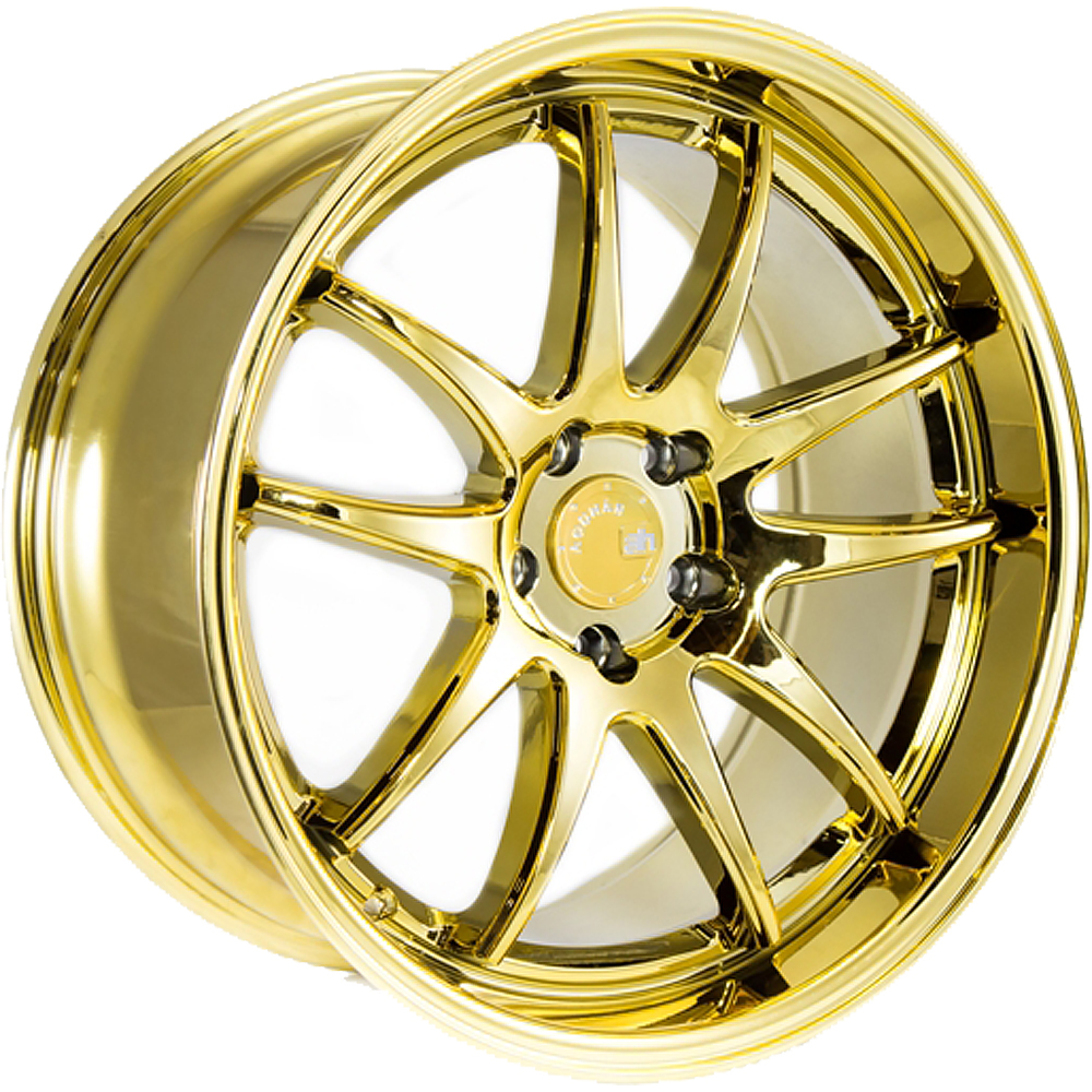 Aodhan DS02 Gold Chrome 18x9.5 30