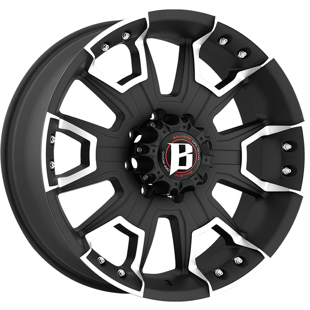 Ballistic Havoc 20x9 12 Custom Wheels