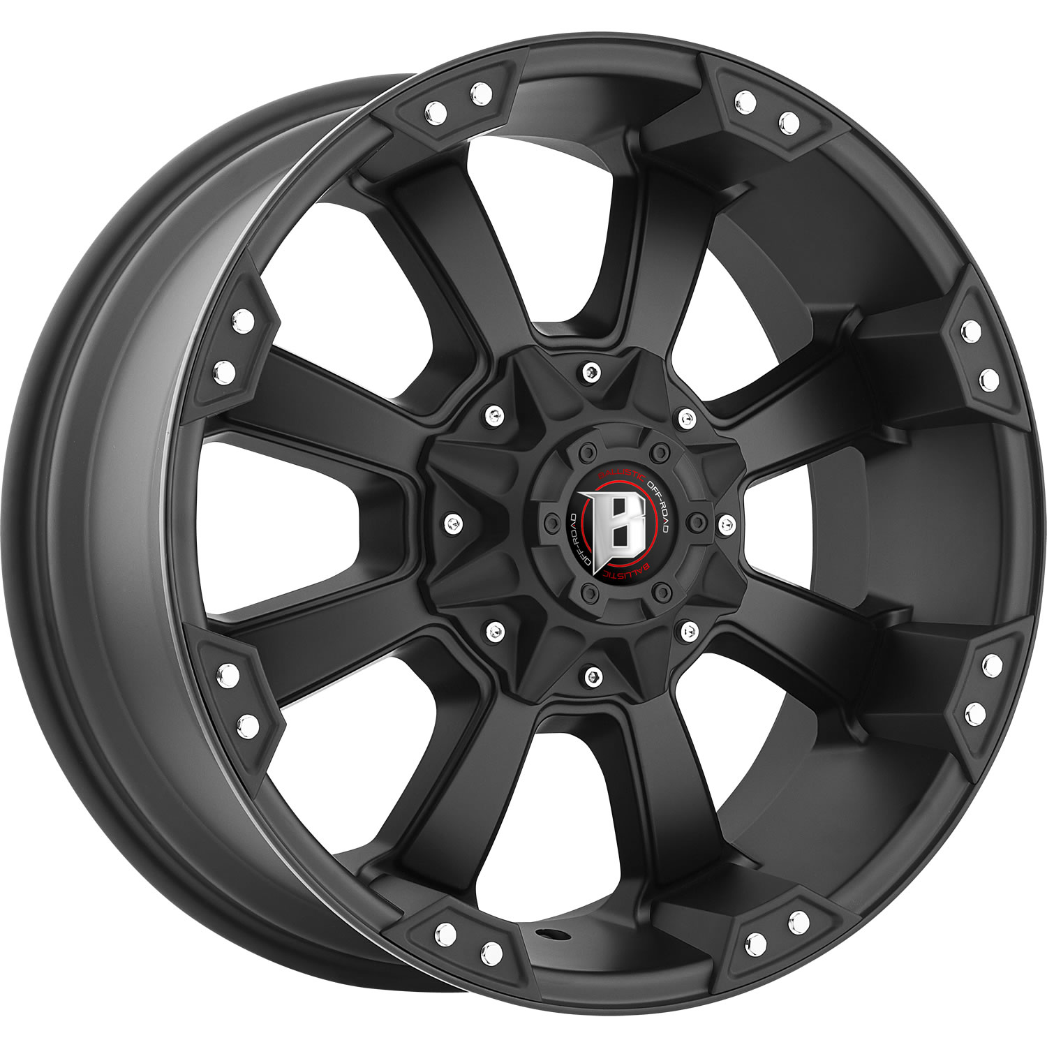 Ballistic Morax 20x9 12 Custom Wheels