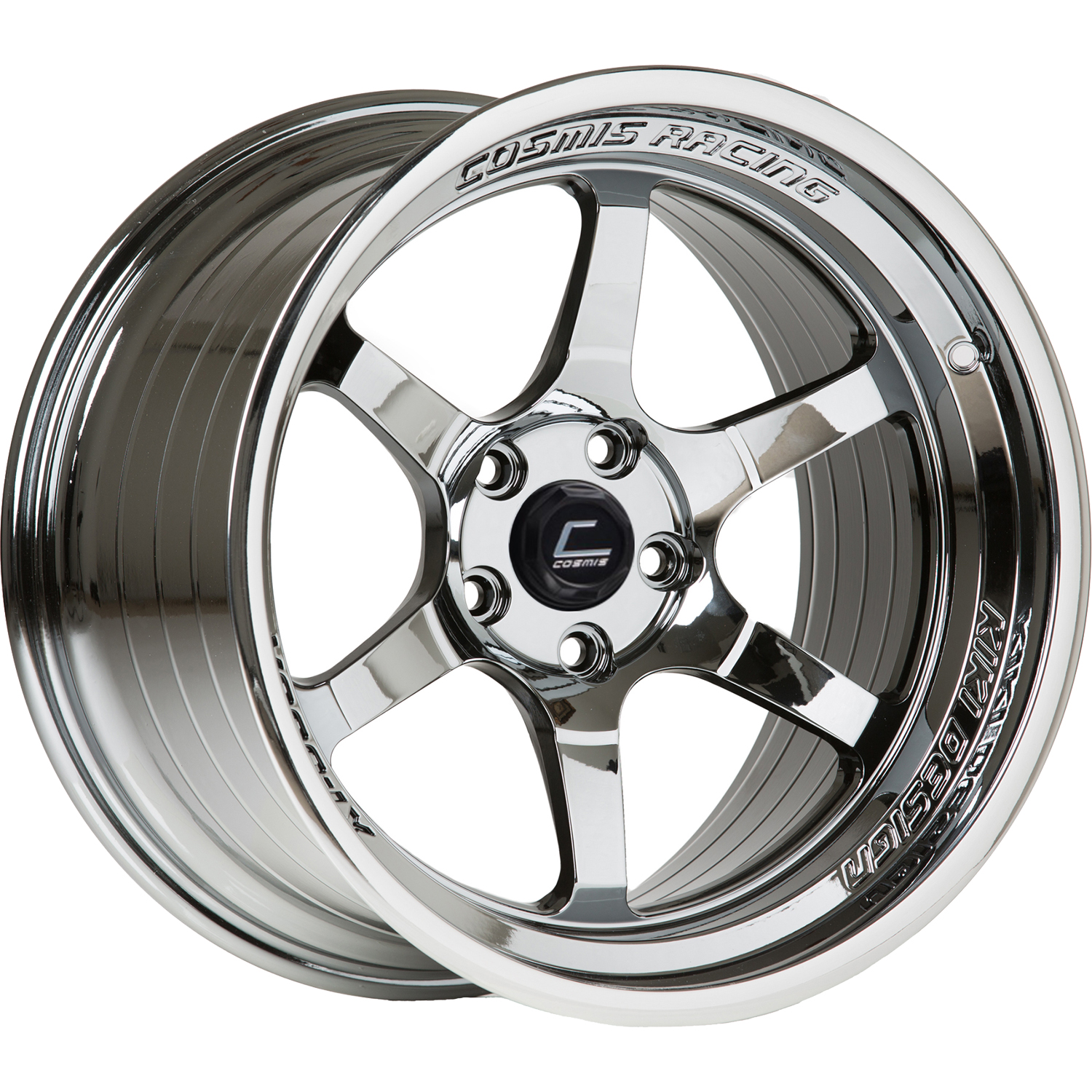 Cosmis Racing XT-006R Black Chrome 18x11 8