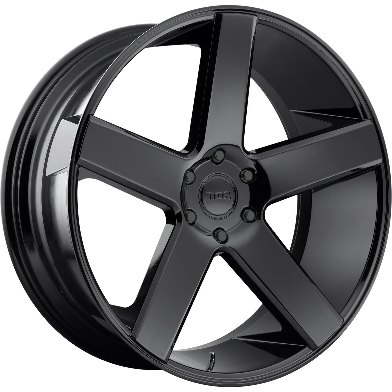Black Wheels Dub Alloys: Dub Baller 24x10 30 Custom Wheels Custom Offsets