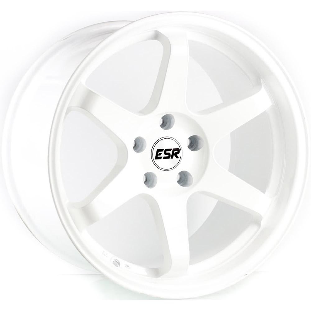 ESR SR07 Gloss White 19x10.5 22