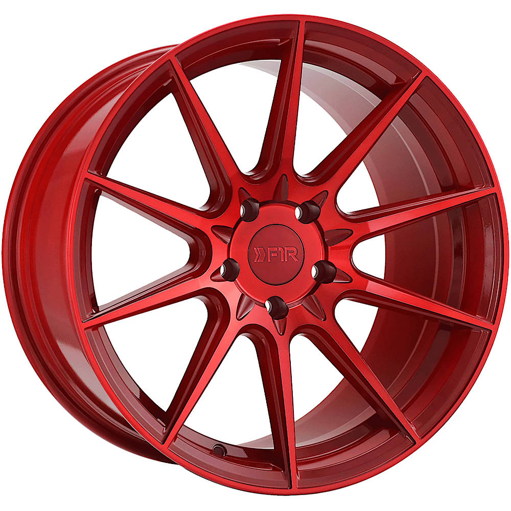 F1R F101 Candy Red 20x9 +35mm