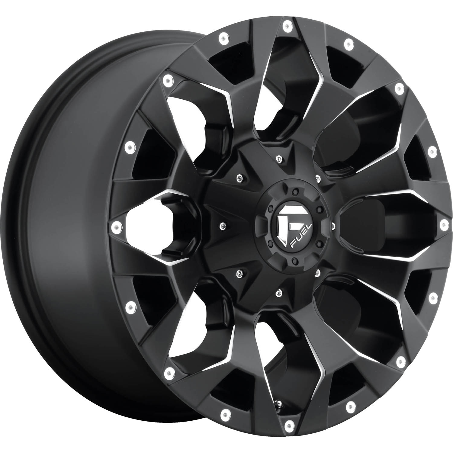 Fuel Assault 17x85 14 Custom Wheels