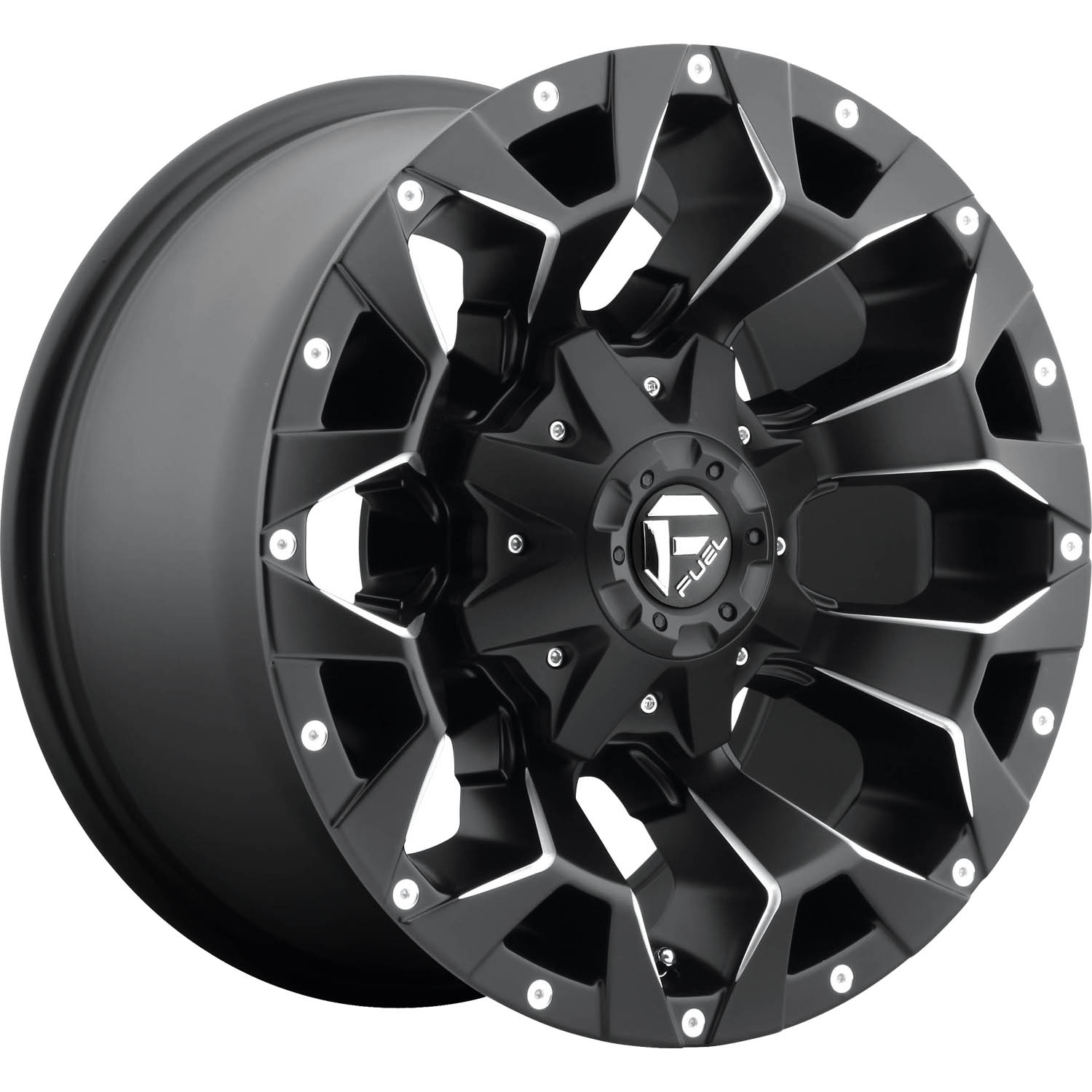 Fuel Assault 17x9 12 Custom Wheels