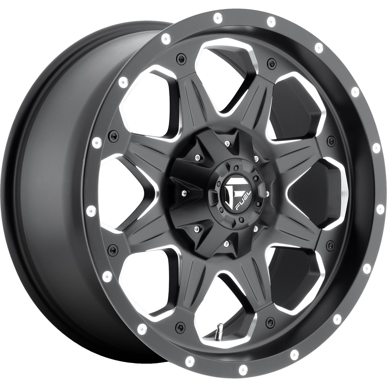 Fuel Boost 20x9 6 Custom Wheels