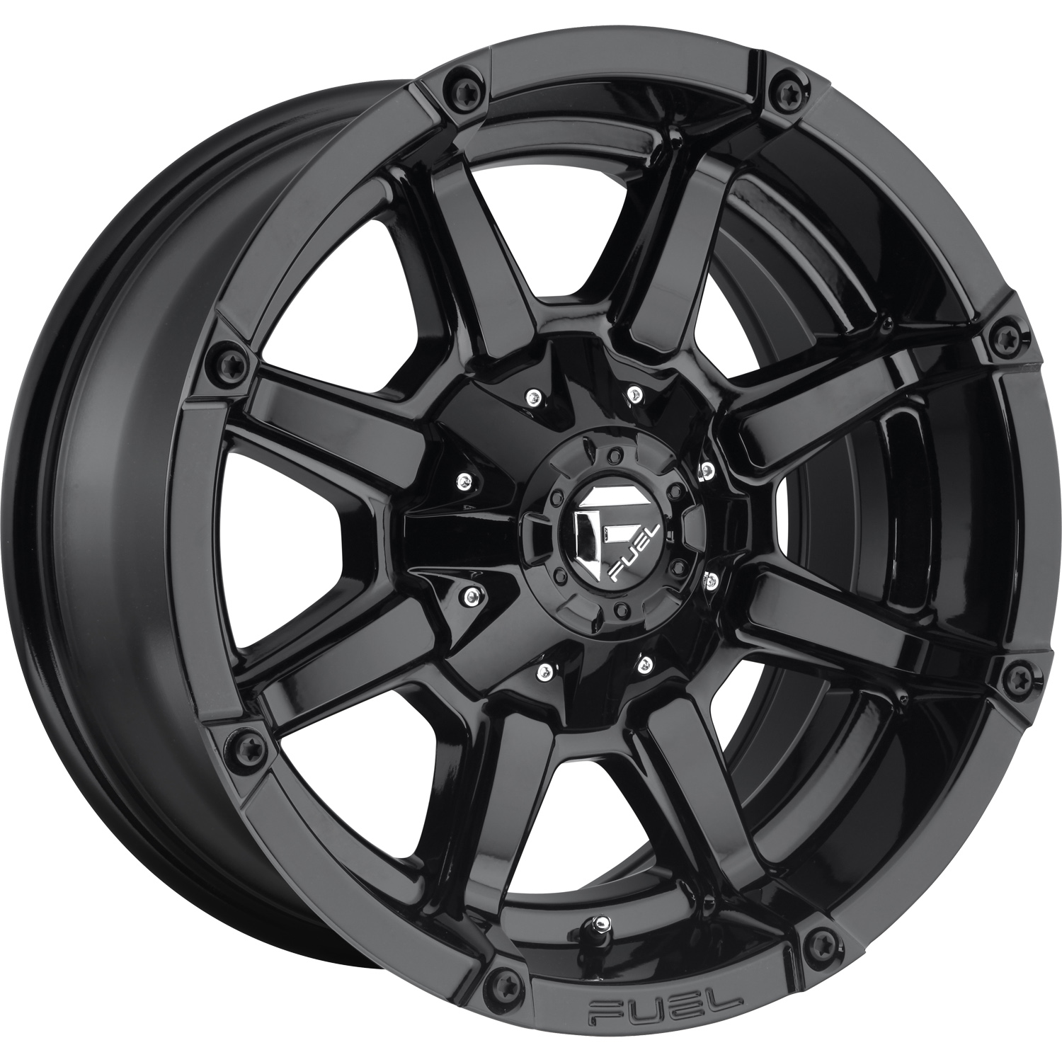 Fuel Coupler Gloss Black 18x9 -12