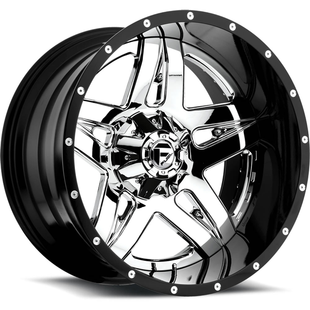 Fuel Full Blown 20x12 44 Custom Wheels Jeep Wrangler With
