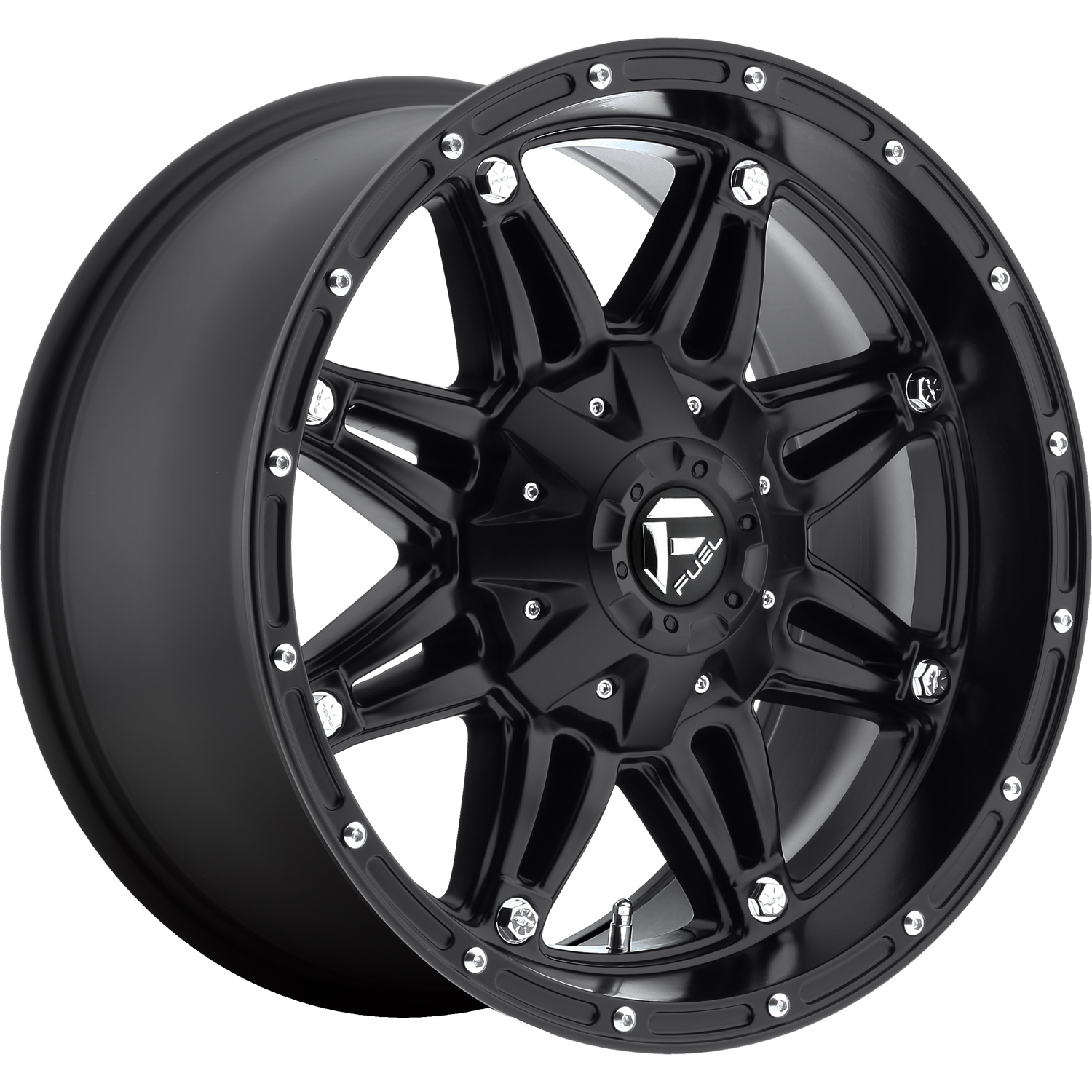 Fuel Hostage 18x9 12 Custom Wheels