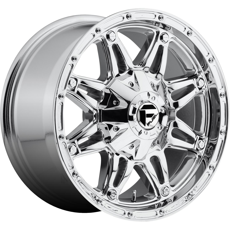 Fuel Hostage 17x85 25 Custom Wheels