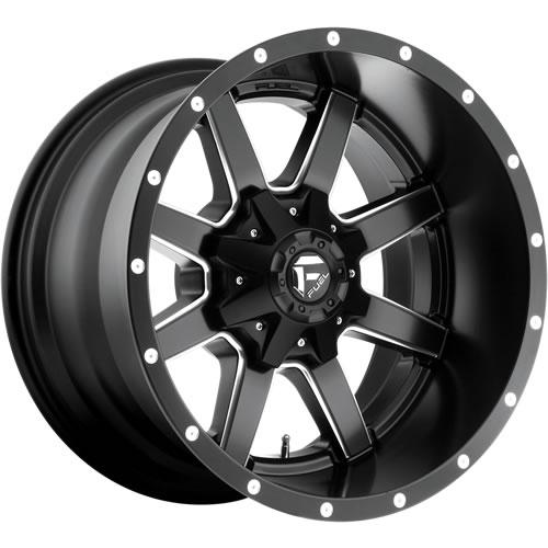 Cleaver 2001: Fuel Maverick 20x12 44 Custom Rims