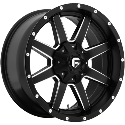 Fuel Maverick 24x14 75 Custom Wheels