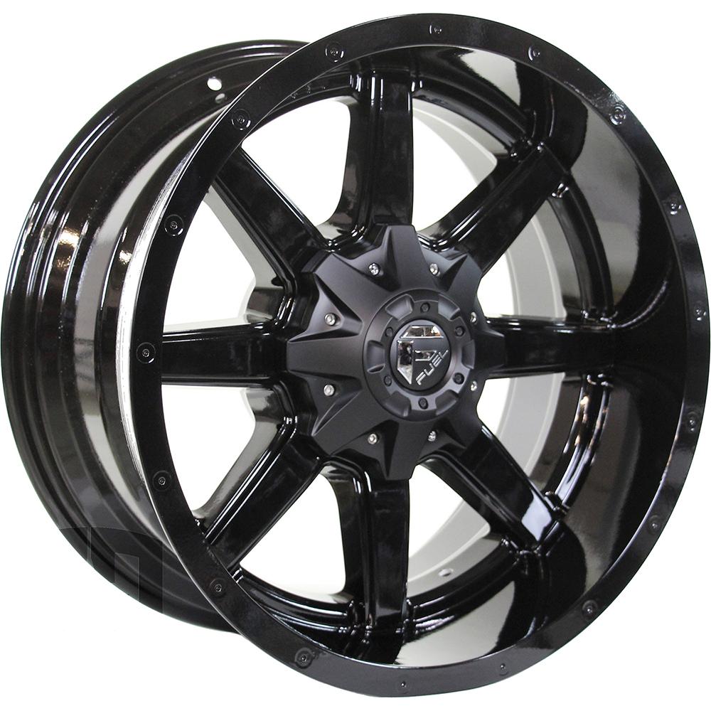 Mount And Balance Tires >> Fuel Maverick 20x10 24 Custom Wheels