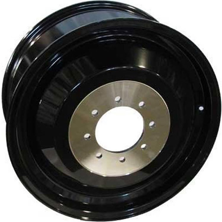 Fuel Rear Inner Gloss Black 20x8.25 78