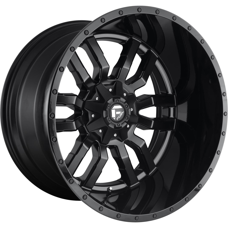 Fuel Sledge 24x14 75 Custom Wheels